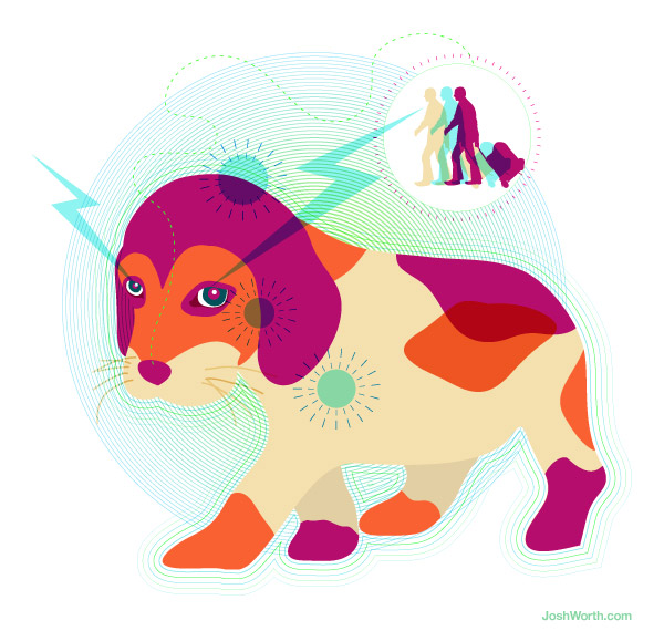A Good Dog Can Smell Your Entangled Photons